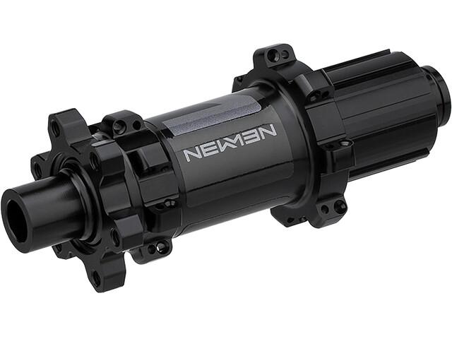 NEWMEN MTB Moyeu arrière 12x142mm 6 boulons Shimano Gen2, black anodized/grey